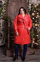 Двубортное пальто для пышных женщин, с 48-82 размер, фото 1