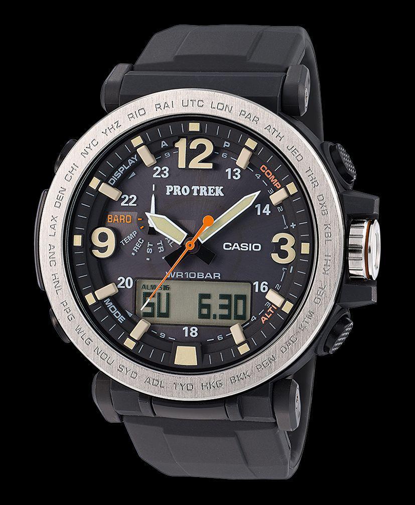 Часы Casio Pro-Trek PRG-600-1A