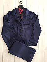 Атласный комплект для сна рубашка и штаны ТМ Exclusive