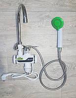 Смеситель мгновенного нагрева для умывальника с душем Rapid