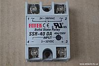 Однофазное твердотельное реле SSR-40DA - FOTEK