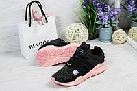 Кроссовки женские в стиле Adidas Equipment adv 91-17 код товара SD-4749. Серые с розовым