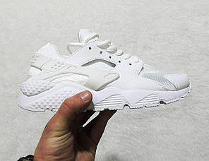 Кроссовки женские Nike Air Huarache Premium White топ реплика, фото 2