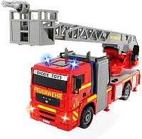 Пожарная машинка Dickie Город со световыми и звуковыми эффектами 31 см 3715001