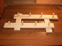 Вешалка банная 8 крючков (35х70см)