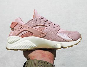 Кроссовки женские Nike Air Huarache Run Pink топ реплика, фото 2