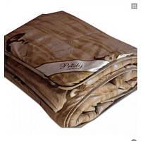 Одеяло двуспальное (евро) 200 х 220м, из шерсти Ламы 2 кг, код:1392