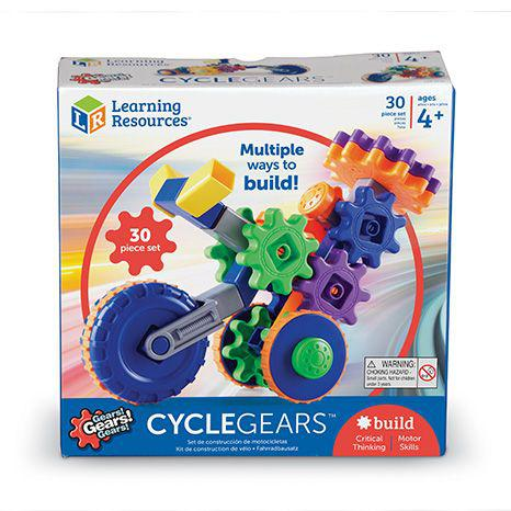 "Конструктор Gears ""Волшебные шестеренки. Мотоцикл"" (30 деталей) Learning Resources"