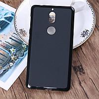 Силиконовый TPU чехол JOY для Nokia 7 черный