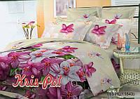 """2х спальное евро постельное бельё для сладкого сна """"Барбара""""."""