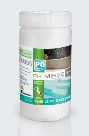 РН минус в гранулах ( 1,50 кг. ) PG-20