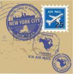 Раздел Женские лосины - фото teens.ua - Нью-Йорк,конверт,марка,штемпель