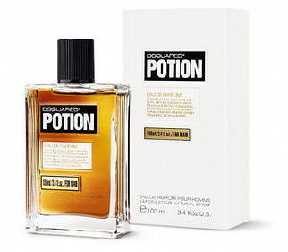 Мужская парфюмерная вода Dsquared2 Potion For Man 100 ml реплика