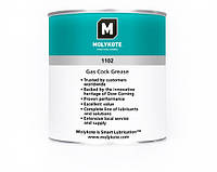Смазка для газовых кранов и вентилей с сочетаниями металла, стекла и пластика Molykote 1102