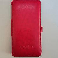 Чехол книжка на Samsung S4 I9500 Imperium Red (htc one x)