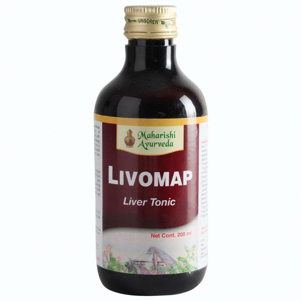 Ливомап сироп - улучшение работы печени Livomap syrup 200 мл инфекционный гепатит, желтуха различной этиологии