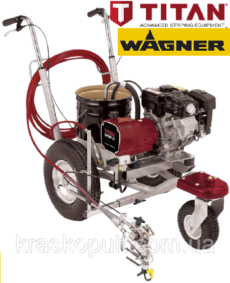Дорожня маркувальна машина TITAN (Wagner) PowrLiner 2850 - 1 пост