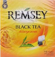 Чай черный классический Remsey Black Tea Klasyczna 75 пакетиков Ремси