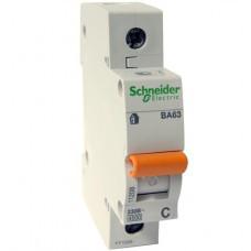 Автоматический выключатель Schneider Electric ВА63 серия Домовой