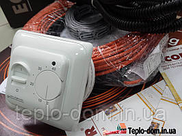 Кабель нагревательный (Комплект с регулятором )  0.9 м.кв