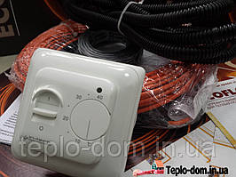Кабель  для отопления в комплекте с Регулятором  (теплый пол) 1.5 м.кв