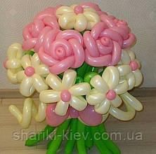 Букет из 15 цветов Нежность