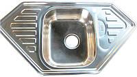 Мойка кухонная Kraft M9550_0,8 mm (полированная)