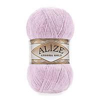 Alize Angora gold  - 27 лиловый