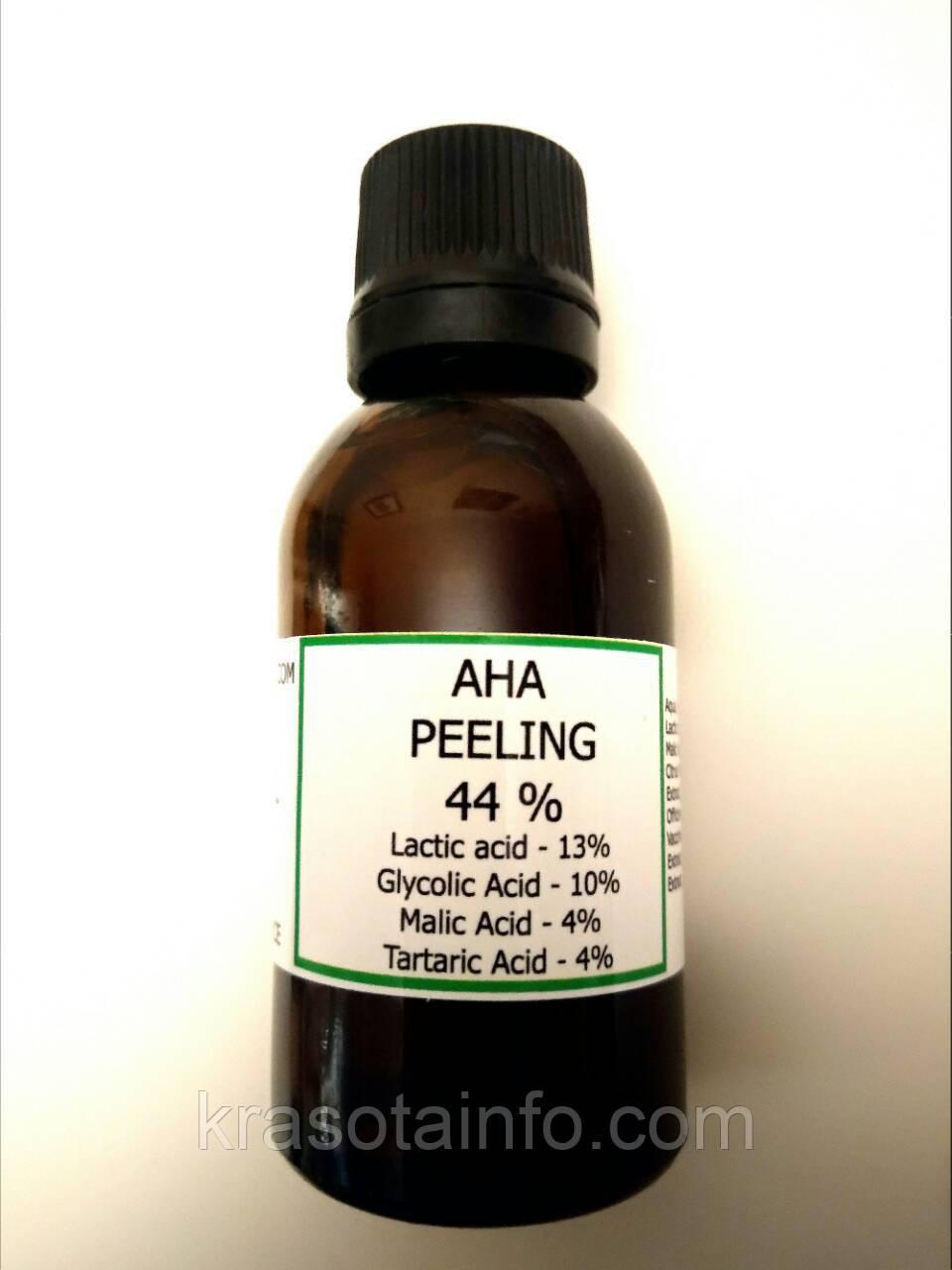 Пилинг для лица AHA 44%, профессиональный, 30 мл.