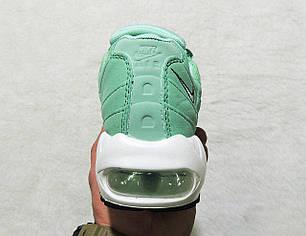 Кроссовки женские Nike Air Max 95 Womens Fresh Mint топ реплика, фото 2
