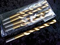 Сверло по металлу с титановым напылением диаметр 9,5