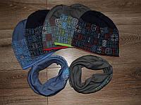 Шапочка и шарф хомут для девочки, Agbo (Польша)   1477 K21