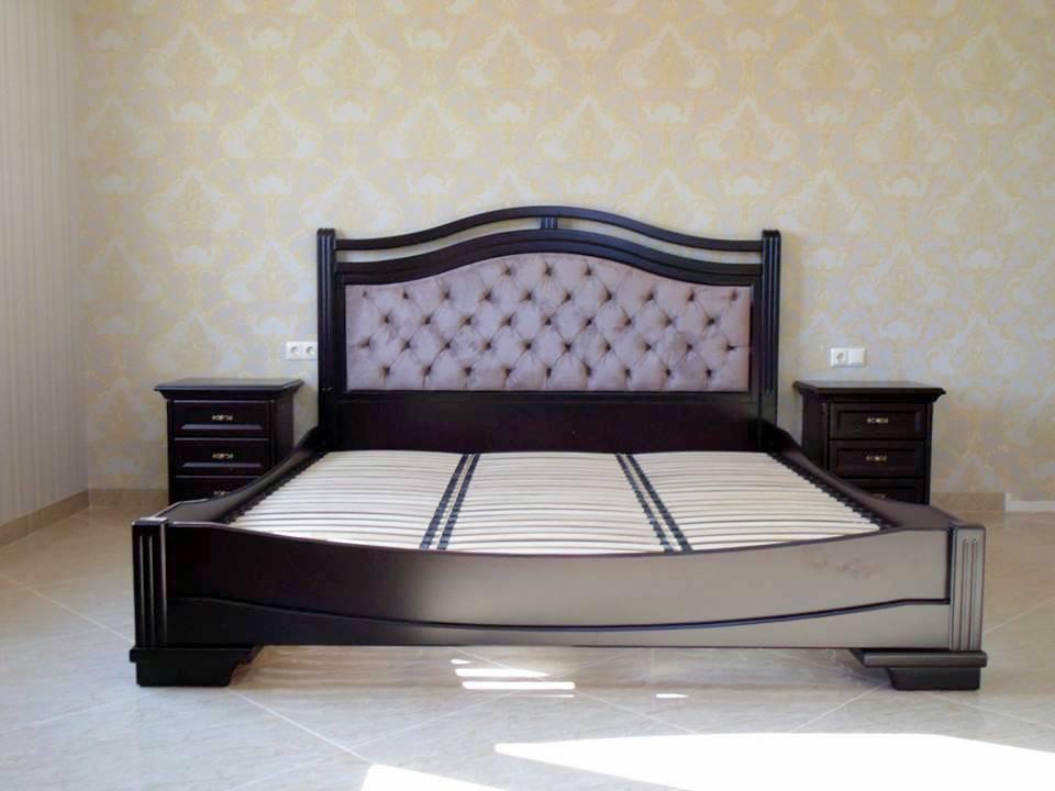 Мебель для спальни в классическом стиле из массива дерева  Кристина РКБ-Мебель цвет на выбор