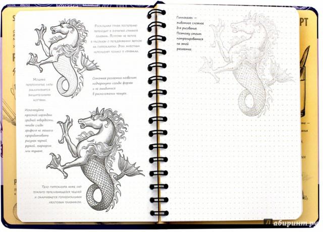 Скетчбук уроки рисования экспресс курс Рисуем фантастических существ