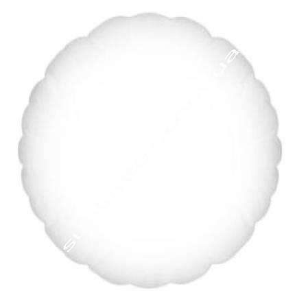 Подушка плюшевая, натуральный наполнитель, для сублимации, круглая, фото 2