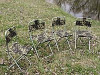 Комплект 4 стільця зі спинкою