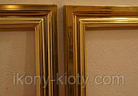 Деревянные рамы, позолоченные сусальным золотом и поталью., фото 2