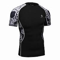 Компресионная футболка (рашгард) Codu Lundin  короткий рукав