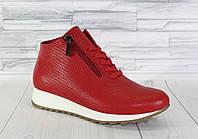 Ботинки спортивные. Демисезонные кроссовки. Натуральная кожа 1676, фото 1