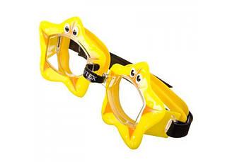 Очки для плавания lntex 55603, 3 цвета, 3-8лет