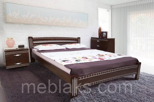 """Кровать деревянная """"Пальмира"""" патина (серия Мария)  Микс Мебель, фото 2"""
