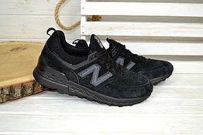 Кроссовки женские New Balance 574 черные 2532