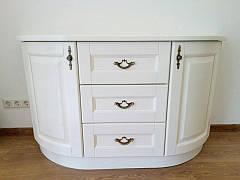 Комод деревянный в классическом стиле  Венера, цвет на выбор  РКБ-Мебель