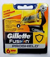 Gillette Fusion ProShield Razor Refill Cartridges Сменные картриджи для бритья  в упаковке 6шт
