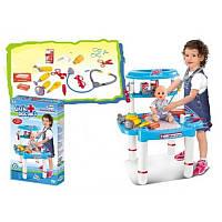 Детский набор Доктора (столик, аксессуары)