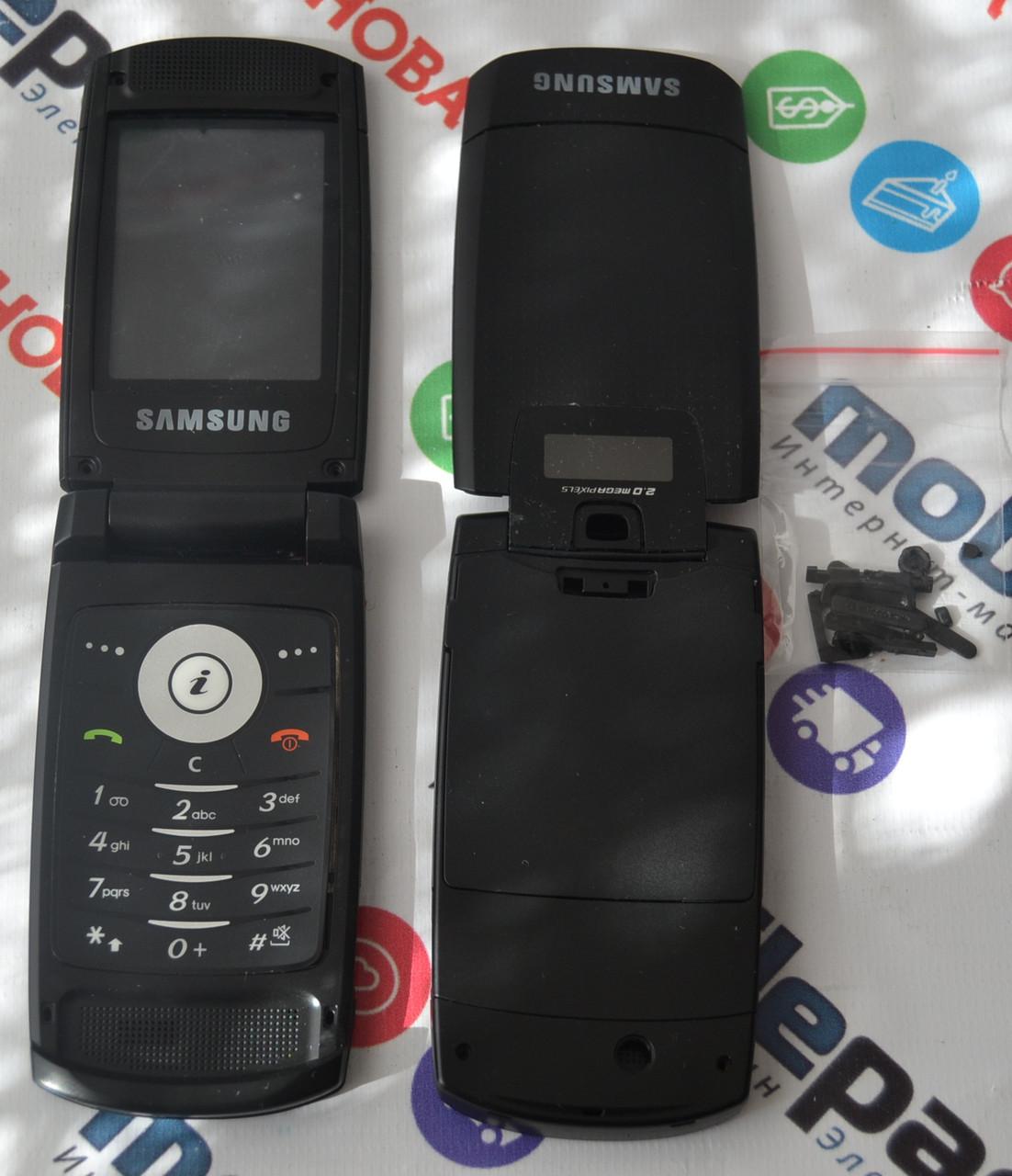 Корпус для телефона Samsung D830 в сборе (Качество ААА) (Черный) Распродажа! b2387493b39e5