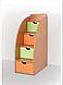 Кровать горка Летро Винни 80см х 200см оранж-фисташка, фото 2