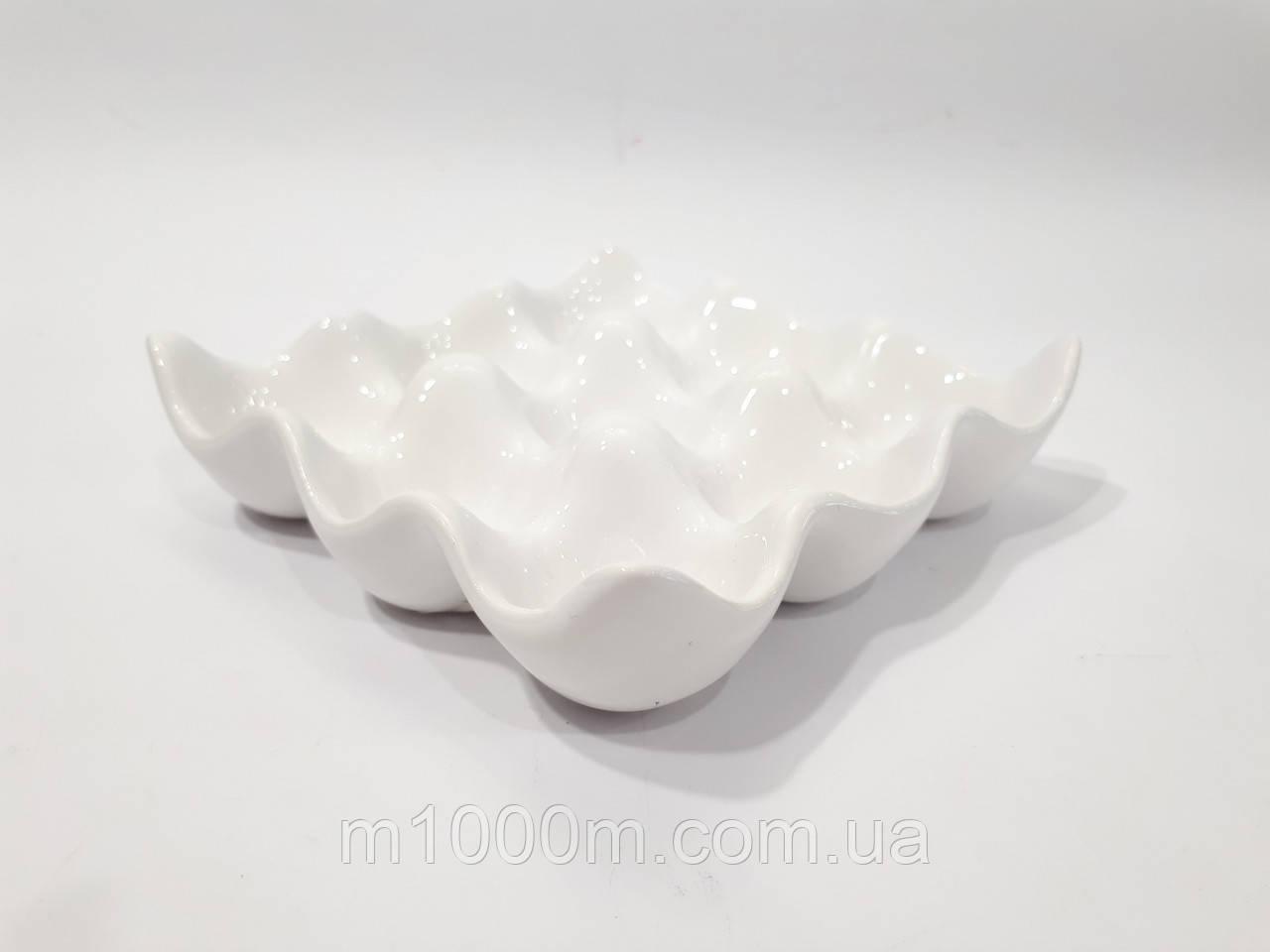 Подставка для яиц керамическая на 9 яиц