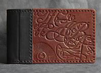 Визитница карманная кожаная Guk (11-12)