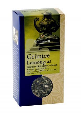 Органический чай зеленый, Лемонграсс, Sonnentor, 90 гр